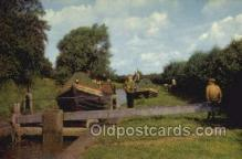 shi053064 - Canal Boats Banbury Ship Postcard Postcards