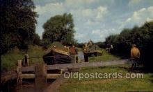 shi053080 - Oxford Canal North Of Banbury Ship Postcard Postcards