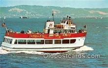 shi053105 - MV Harbor King San Francisco Bay Cruise Boats Ship Postcard Post Card