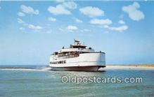 shi053114 - Ocracoke, Sea Level, Atlantic Ferry North Carolina Ship Postcard Post Card