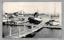 shi053115 - Yacht Harbor, Port Heuneme Oxnard, California Ship Postcard Post Card