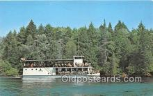 shi053116 - New River Boat Hiawatha Tahquamenon River Ship Postcard Post Card
