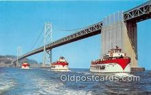 shi053126 - Harbor Tours San Francisco Ship Postcard Post Card