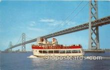shi053130 - MS Harbor Queen San Francisco Ship Postcard Post Card