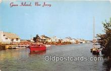 shi053139 - Green Island New Jersey Ship Postcard Post Card