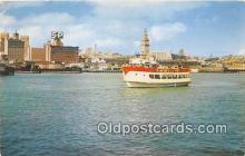 shi053140 - Sightseeing Boat, MS Harbor Queen San Francisco Ship Postcard Post Card