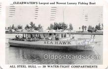 shi053142 - Sea Hawk Fishing, Party Vessel Clearwater Ship Postcard Post Card