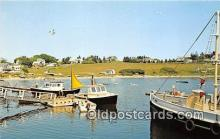 shi053150 - Mackerel Cove Bailey Island, Maine Ship Postcard Post Card