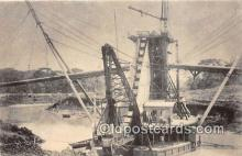 shi053155 - Panama Canal  Ship Postcard Post Card