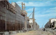 shi053165 - Billion Dollar St Lawrence River Seaway & Power Development Dwight D Eisenhower Lock Ship Postcard Post Card