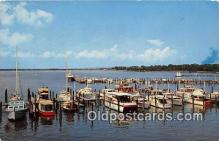 shi053168 - Norfolk Yacht & Country Club Lafayette River Ship Postcard Post Card