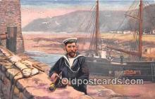 shi053198 - Devon Coastguard  Ship Postcard Post Card