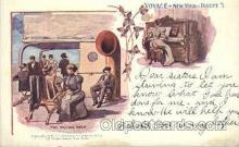shi054005 - Fine Weather Again, Voyage, New York,USA American SouvenirCard Co. Ship Ships Postcard Postcards