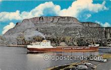 shi055053 - Mount McKay, Fort William Ontario, Canada Ship Postcard Post Card
