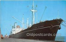 shi055054 - North Carolina State Port Morehead City, North Carolina USA Ship Postcard Post Card