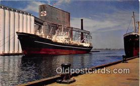 shi055059 - Duluth Harbor Duluth, Minnesota USA Ship Postcard Post Card