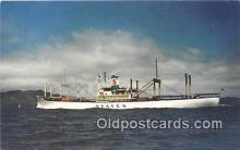 shi055060 - States Steamship Company Pacific Coast, Hawaii USA Ship Postcard Post Card