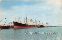 shi055063 - Port of Brownsville South Texas USA Ship Postcard Post Card