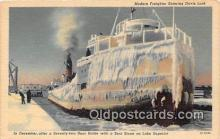 shi055079 - Modern Freighter Davis Lock Ship Postcard Post Card