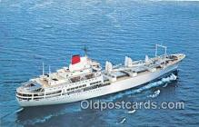 shi055087 - Mitsui OSK Lines  Ship Postcard Post Card