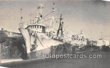shi055091 - Tong Wha Korean, Home Port Pusan Korea Ship Postcard Post Card