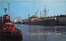 shi055109 - Duquesne Marine Terminal Port of Erie, PA USA Ship Postcard Post Card