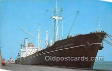 shi055110 - North Carolina State Port Morehead City, North Carolina USA Ship Postcard Post Card