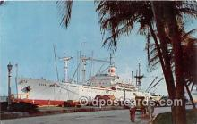 shi055116 - SS Alcoa Clippers Caribbean Ship Postcard Post Card