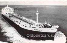 shi055118 - SS Vitrea Reder Shall Tankers NV Ship Postcard Post Card
