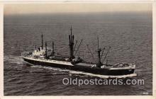 shi055124 - MS Hecuba  Ship Postcard Post Card
