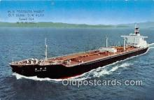 shi055130 - MS Tatsuta Maru NYK Line Ship Postcard Post Card