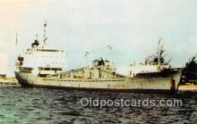 shi055144 - MV Norman Bulk Cement Carrier, Guam Ship Postcard Post Card