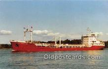 shi055159 - The Tanker, Le Frene No 1 Montreal, Quebec Ship Postcard Post Card