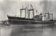 shi055160 - NV Suruga Maru Japanese Freighter, 1957 Ship Postcard Post Card