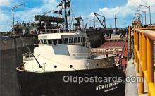 shi055167 - Lock Gull, New Brunswicker Montreal Ship Postcard Post Card