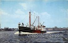 shi055179 - Scalloper New Bedford Ship Postcard Post Card