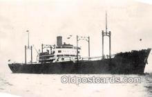 shi055192 - Aratama Maru Guam Ship Postcard Post Card