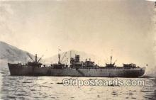 shi055198 - SS John W Weeks Scajap Ship VH 007, Korean Ship Postcard Post Card