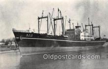 shi055199 - NV Suruga Maru Japanese Freighter, 1957 Ship Postcard Post Card