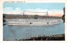 shi056003 - Steamer Camden Rockland, ME USA Ship Postcard Post Card