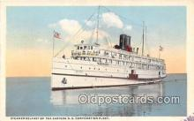 shi056004 - Steamer Belfast Eastern SS Corporation Fleet Ship Postcard Post Card