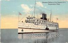 shi056005 - Steamer Belfast Eastern SS Corporation Fleet Ship Postcard Post Card