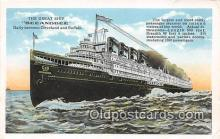 shi056013 - Great Shp Seeandbee Cleveland, Buffalo Ship Postcard Post Card
