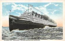 shi056020 - Great Ship Seeandbee Buffalo & Cleveland Ship Postcard Post Card