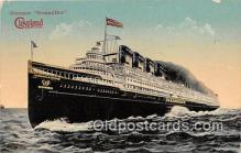 shi056022 - Steamer Seeandbee Cleveland Ship Postcard Post Card