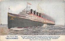 shi056027 - Great Ship Seeandbee Cleveland & Buffalo Ship Postcard Post Card