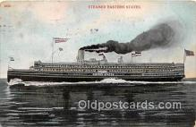 shi056030 - Steamer Eastern States  Ship Postcard Post Card