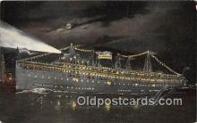 shi056037 - SS Theodore Roosevelt  Ship Postcard Post Card