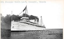 shi056039 - Non Postcard Backing Steamer North Land General, Canada Ship Postcard Post Card