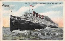 shi056041 - Steamer Seeandbee Cleveland & Buffalo Ship Postcard Post Card